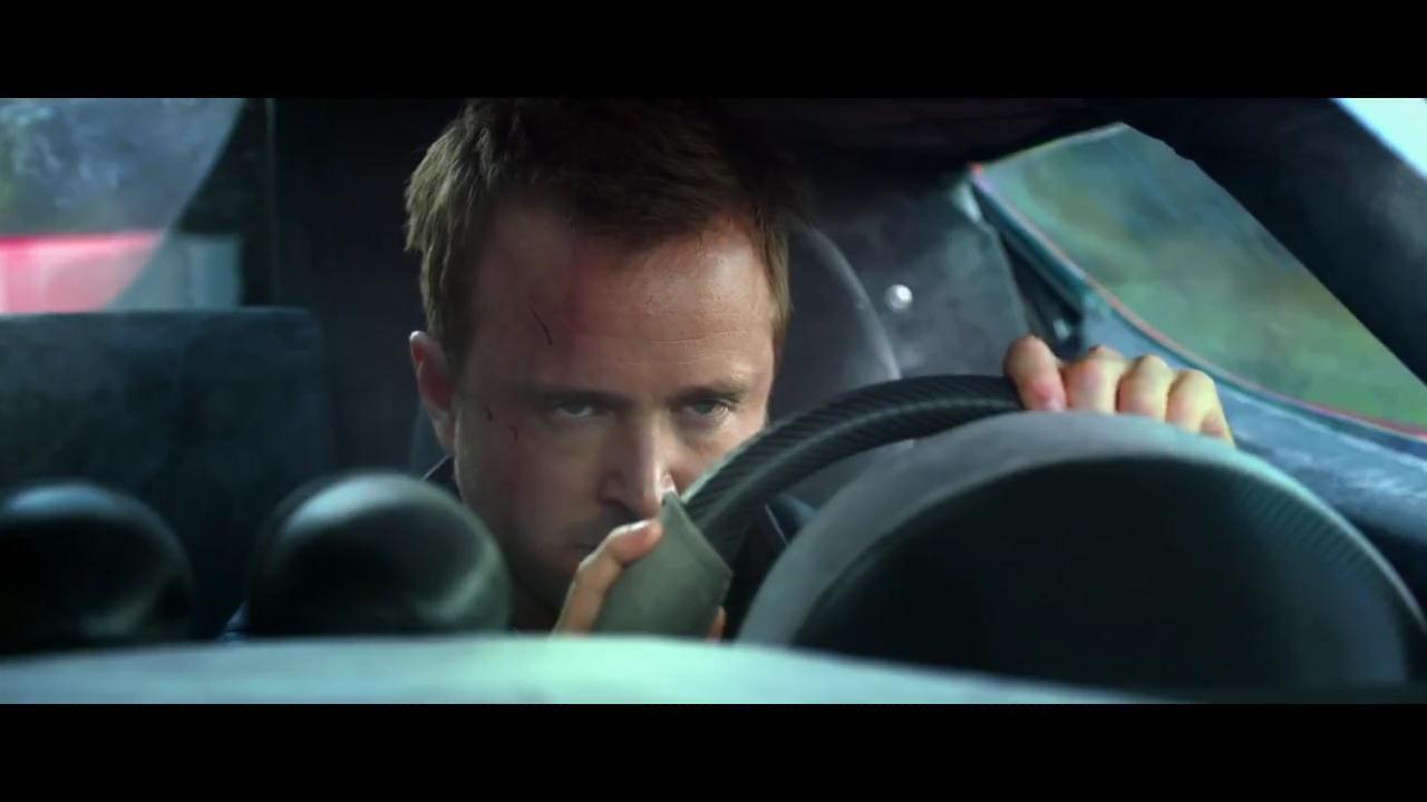 El trailer de la película de Need for Speed tiene autos, música dramática y a Aaron Paul [CINE GAMER]