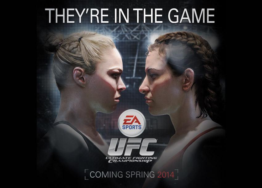 UFC ahora trae mujeres luchadoras [Girrrrl power!]