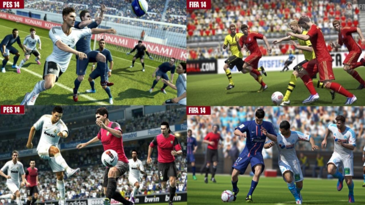 ¿Cuál Demo les ha parecido hasta ahora la mejor? ¿FIFA 14 o PES 14? [Opinión y Debate]