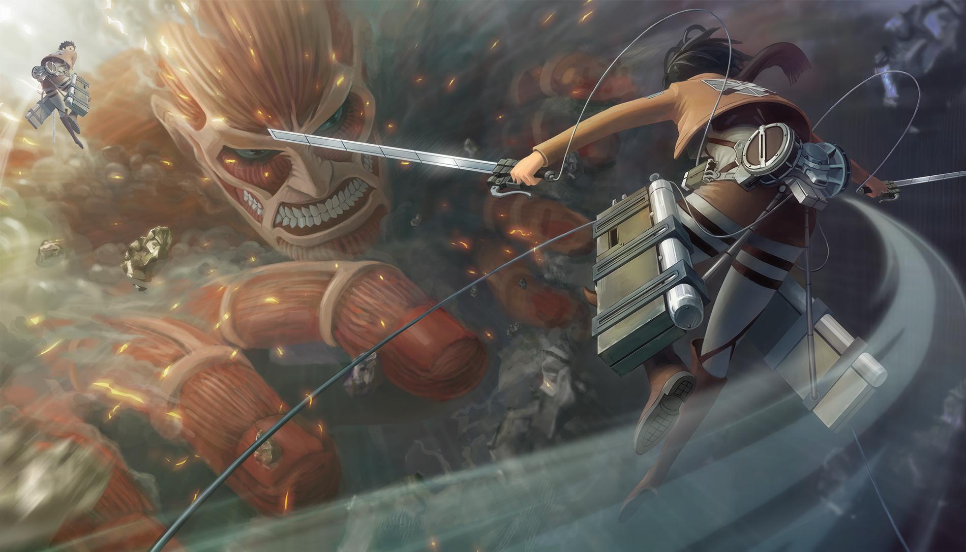El juego de Attack on Titan para 3DS obtiene un nuevo teaser [Video]