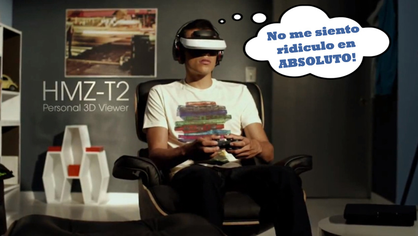 Sony presentaría un sistema de realidad virtual en la TGS [Como verse ridículo mientras jugamos]