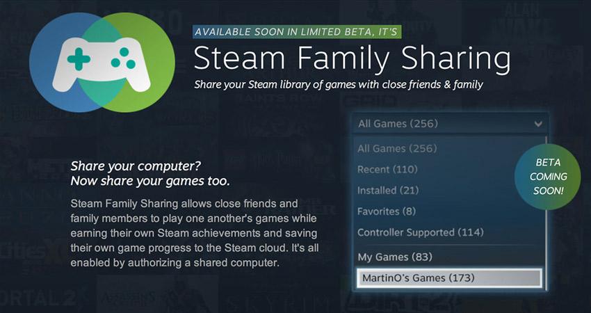 """Steam anuncia su nuevo servicio """"Family sharing"""" [Hail to the Steam, baby!]"""