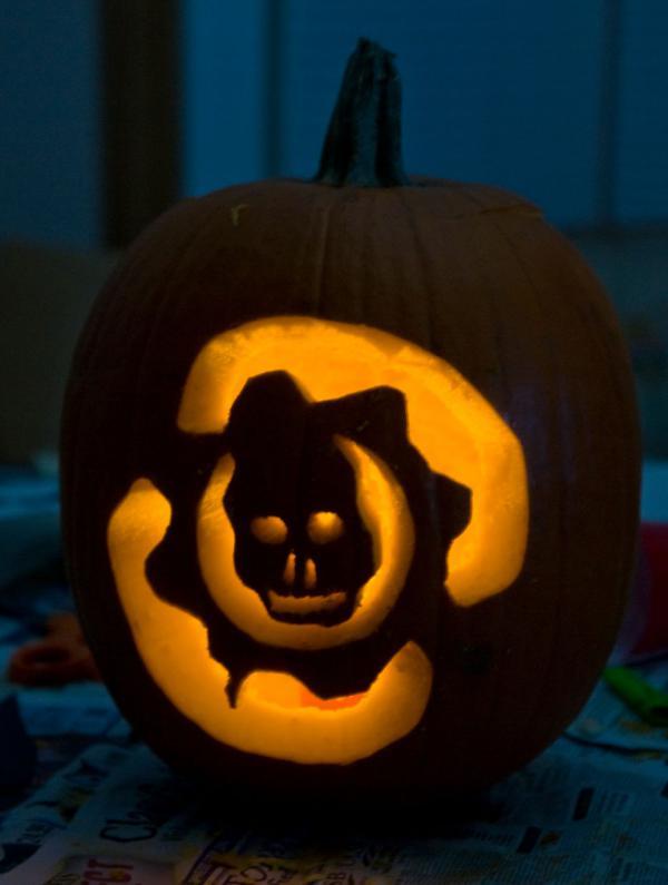 Ideas para tus calabazas gamers lagzero en halloween - Disenos de calabazas de halloween ...