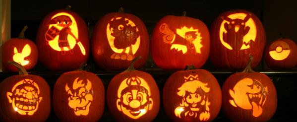Como hacer calabaza para hallowen o dia de muertos - Disenos de calabazas de halloween ...