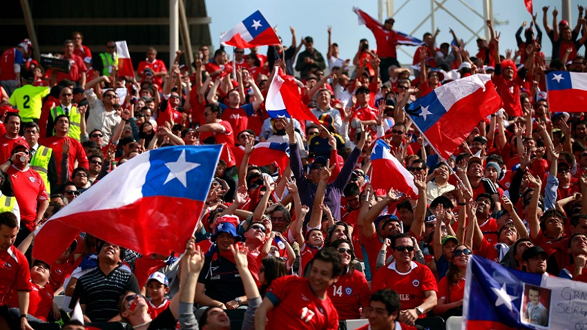 CHILE CLASIFICA AL MUNDIAL DE BRASIL [CUALQUIERCOSA CEACHEÍ NEWS]
