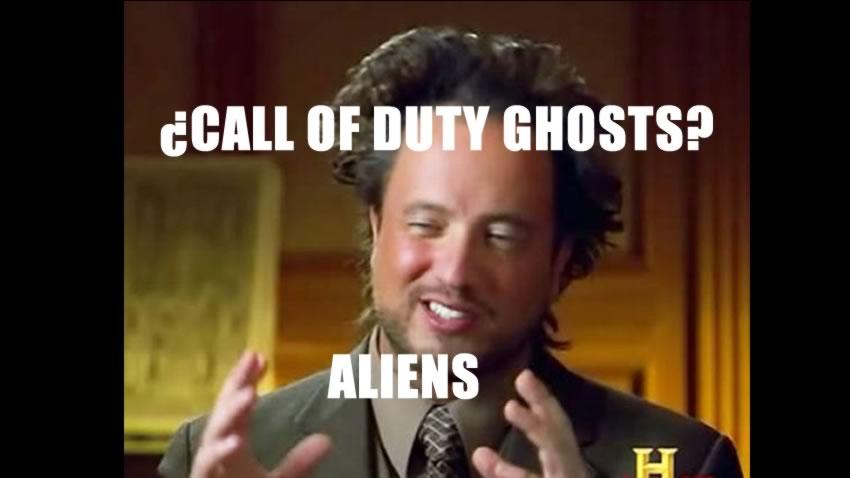 ¿Zombies? eso es tan 2012, ahora tenemos Alienigenas en Call of Duty Ghosts [Vídeo]