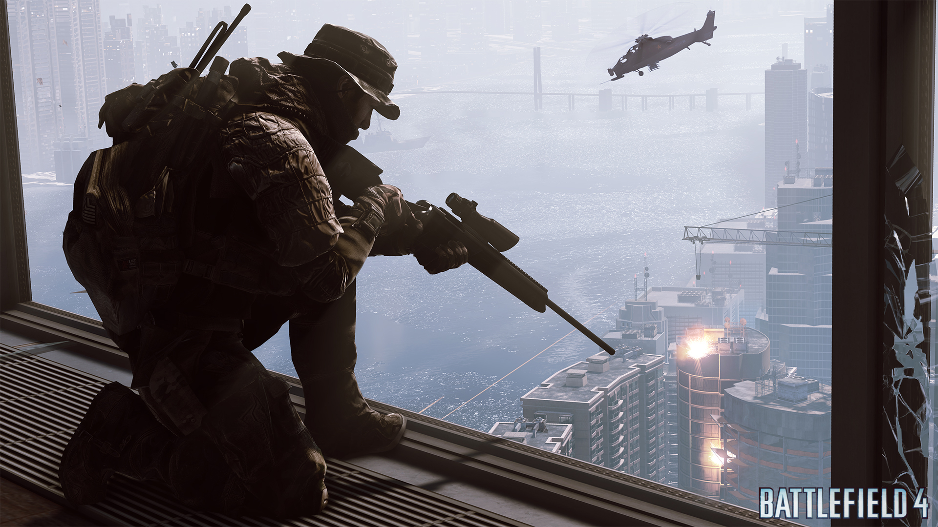 En el trailer de la historia single player de Battlefield 4, le pegan al perrito! [Video]