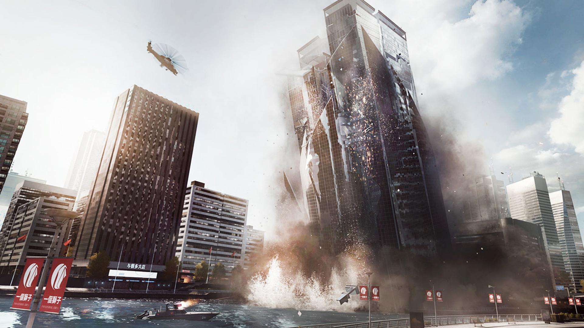 Bienvenidos al modo disco de Battlefield 4 [Advertencia puede producir epilepsia]