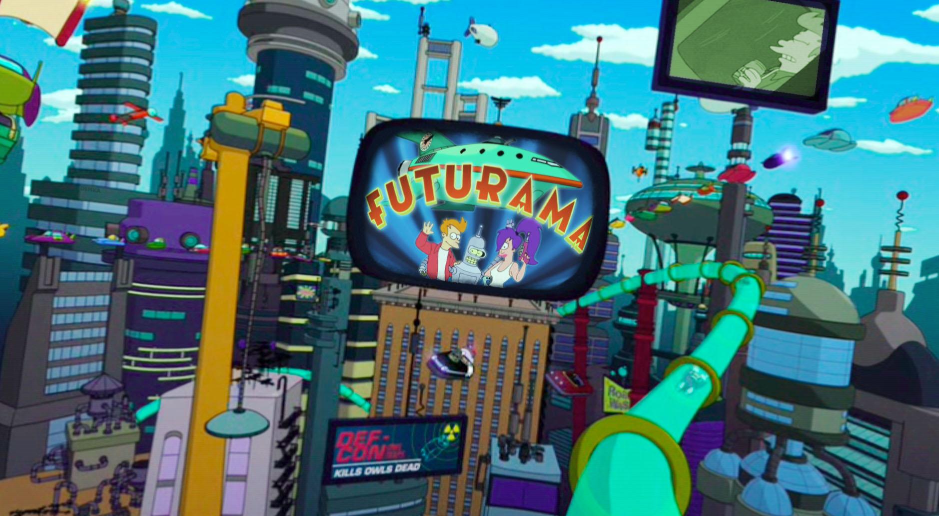 A Major Nelson le gustaría revivir la serie Futurama como exclusiva de Xbox [Anuncios]
