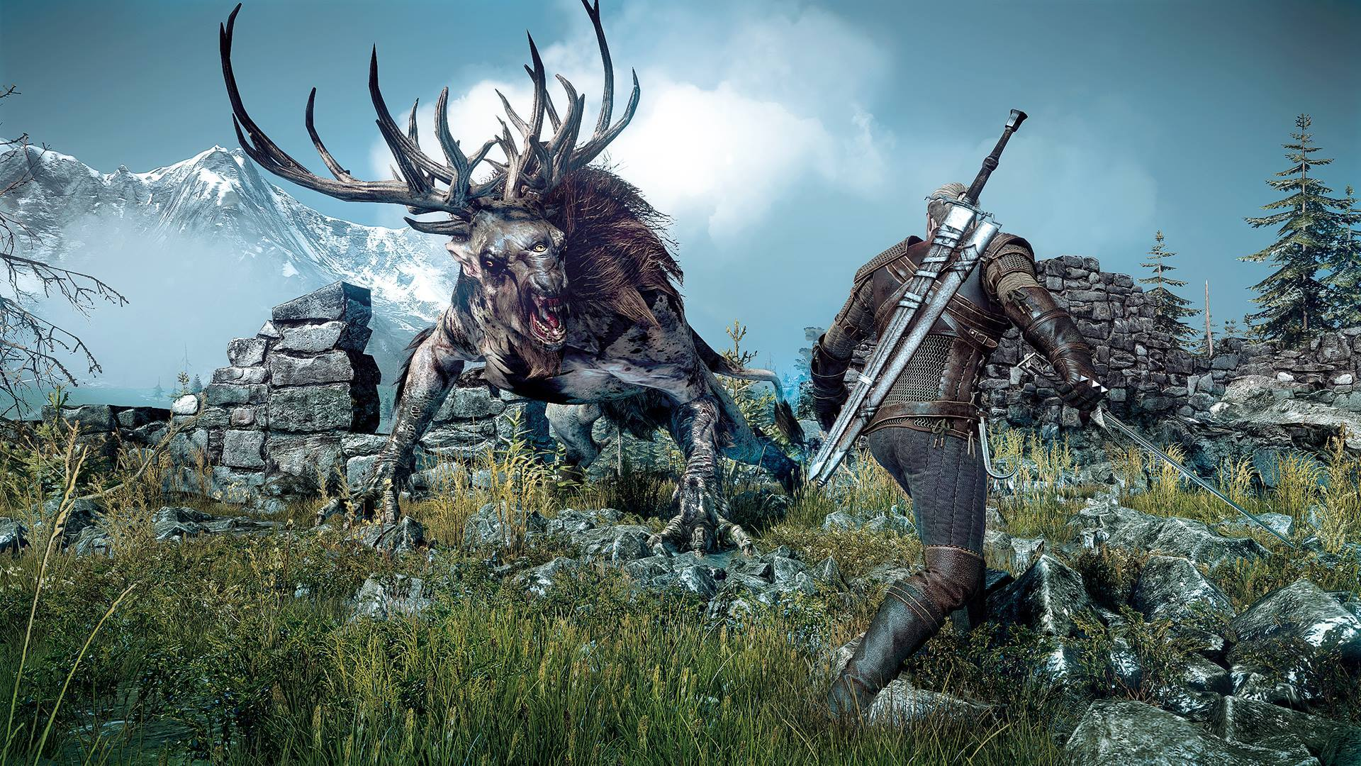 Una rápida mirada a The Witcher 3: Wild Hunt en PC