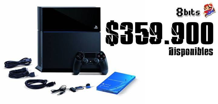 PS4 ya está a la venta en Chile [VIEJA CARERA NIUS]