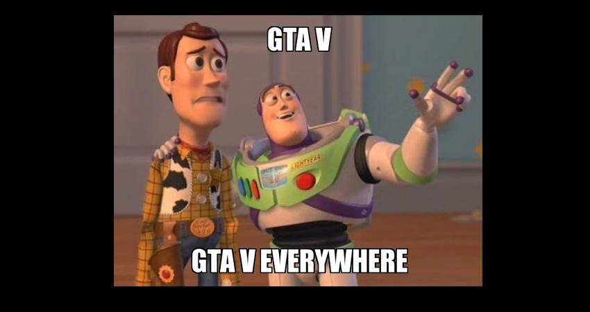 La historia detrás de GTA V contada en 1 minuto [Video]