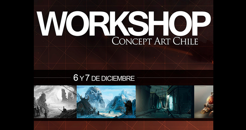 Concept Art Workshop para los artistas gamers chilenos [Evento]