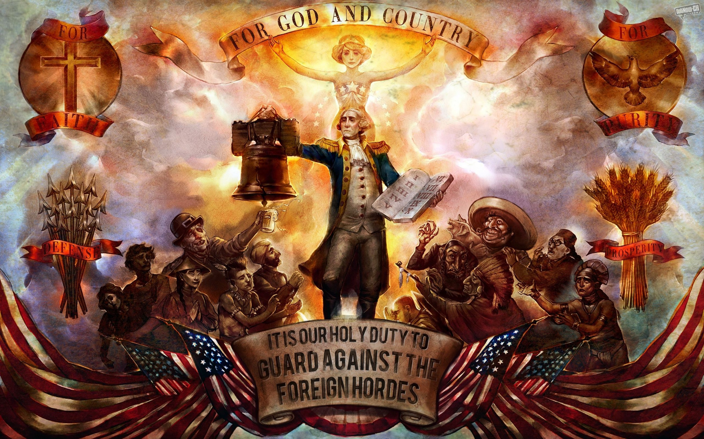 El partido ultra conservador de USA, ocupa Bioshock Infinite, para sus propagandas #FAIL