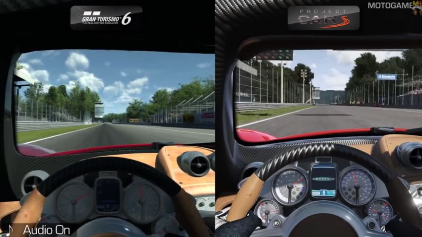 Veamos como se ve Project CARS en comparación a Gran Turismo 6 [Vídeo]