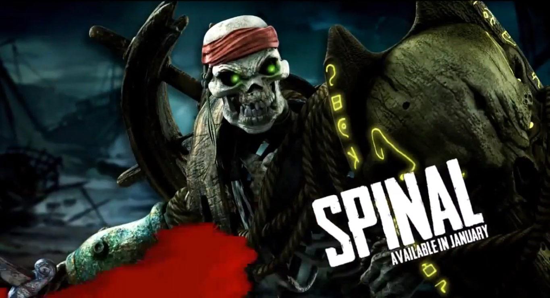 Así se ve Spinal en el nuevo Killer Instinct [Video]