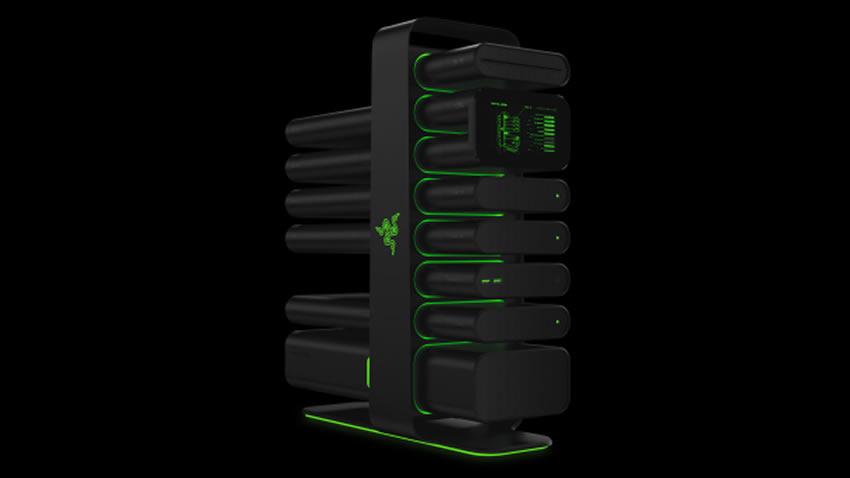 Razer presenta su concepto de PC modular, permite que actualizarlo sea un juego de niños [CES 2014]