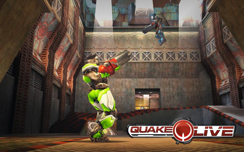 Quake Live vuelve a sus raíces con su cliente descargable