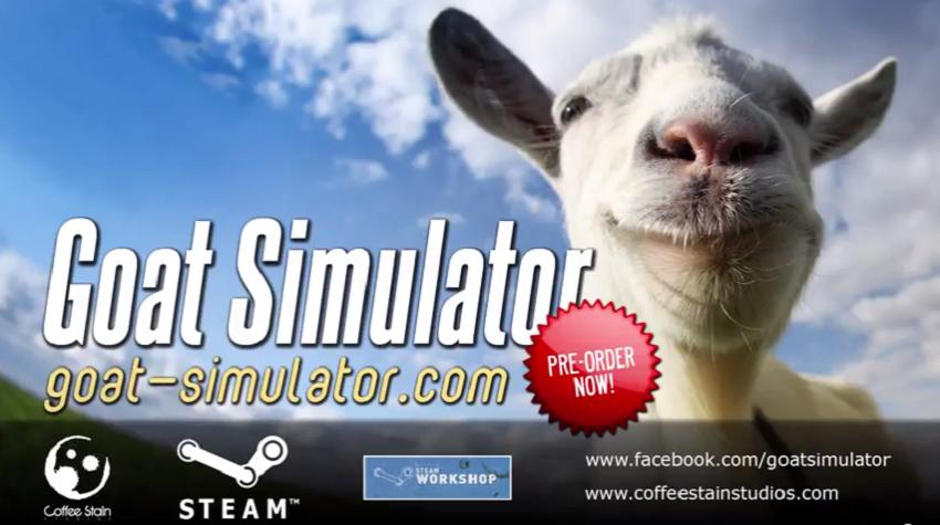 Dejen todo lo que están haciendo y ríanse un rato con el trailer de Goat Simulator [Vídeo]