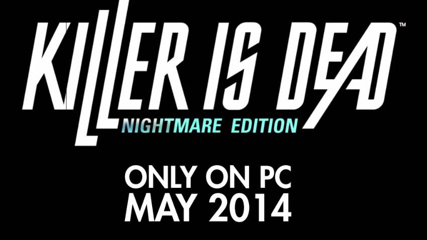 Killer is Dead: Nightmare Edition anunciado para PC, menos casual más Hardcore