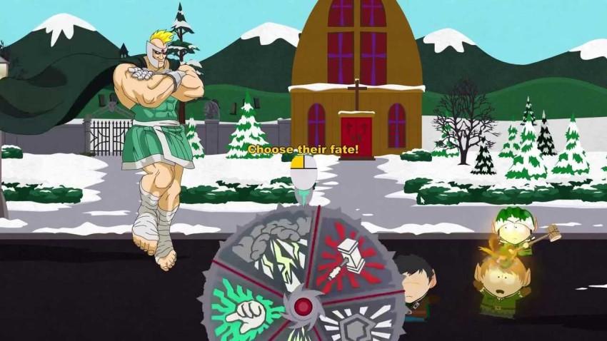 El profesor Caos es uno de las tantas referencias que el juego tiene a la serie.
