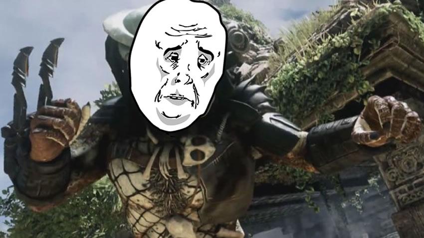 ¿Que hizo el pobre Depredador para merecer esto? ser una skin en el DLC de COD: Ghosts [Vídeo]