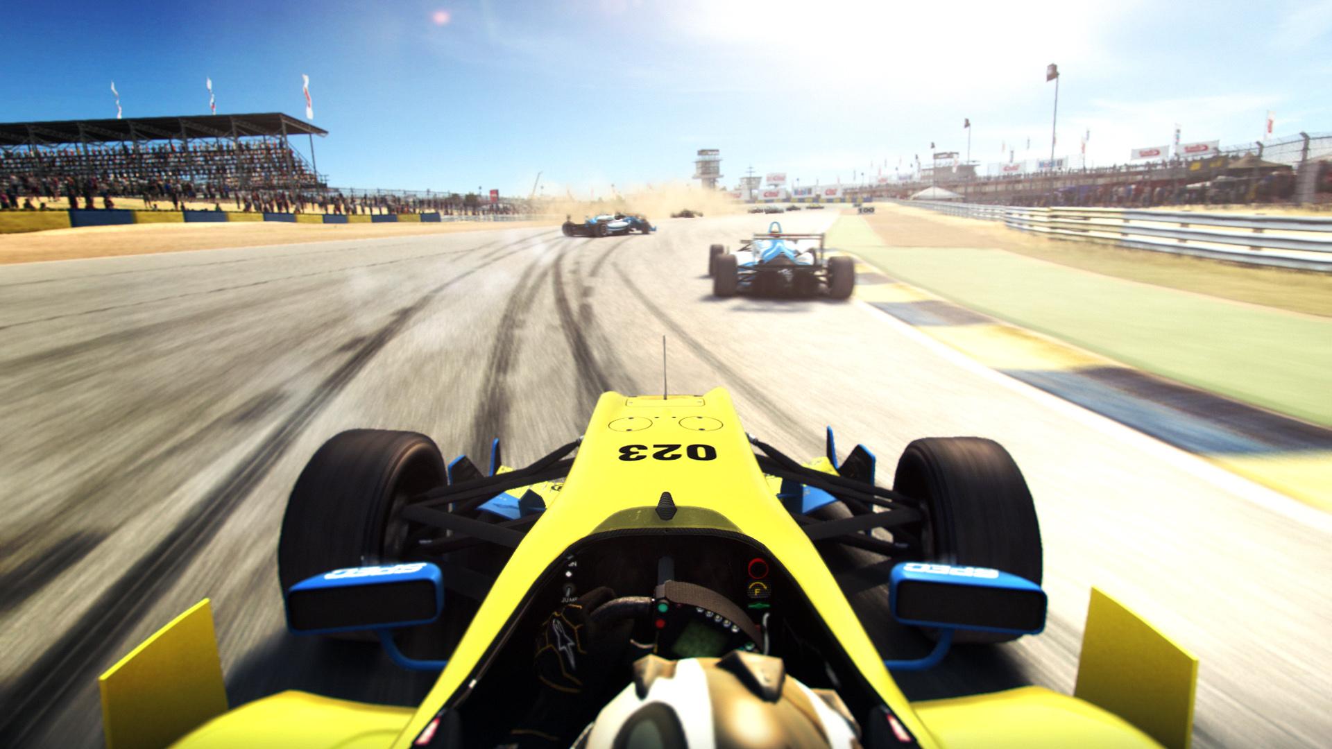 Anunciado Grid Autosport, trae de vuelta la vista de la cabina [Vídeo]