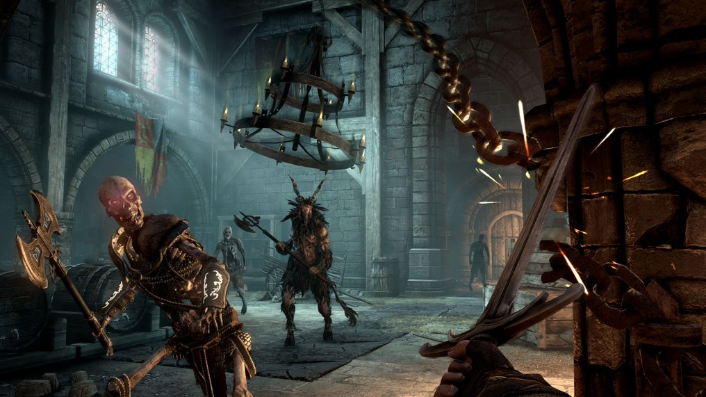 Hellraid el juego medieval estilo Hexen de Techland se acaba de ir al demonio