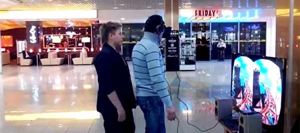 Mientras tanto en Rusia: Bromita con el Oculus Rift [VIDEO]
