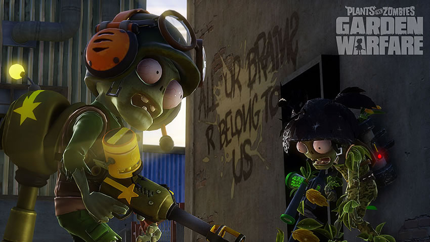 Plants vs zombies garden warfare llegaria para pc en junio vídeo