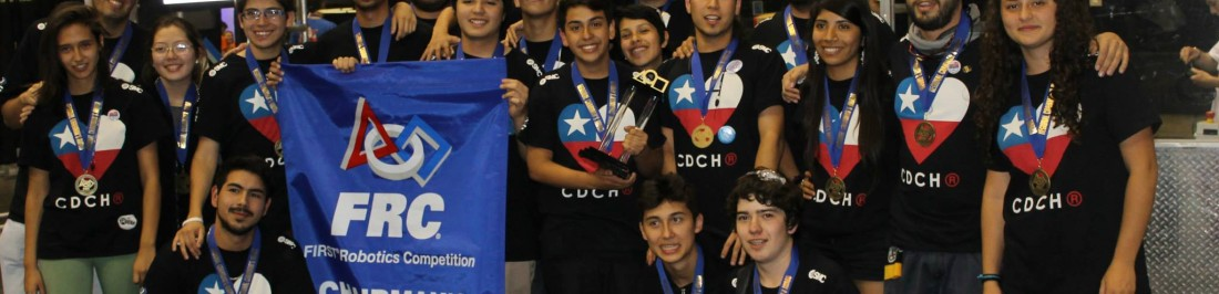 Team Corazón de Chileno viaja a la final mundial FIRST Robotics Competition en USA [CEACHEÍ NIUS]
