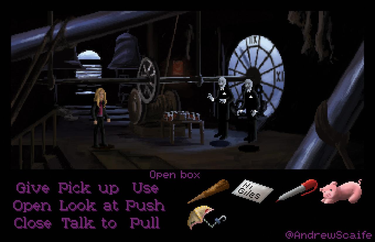 Como se vería Buffy la Cazavampiros si hubiera sido creada por Lucasarts [Fan-Made]