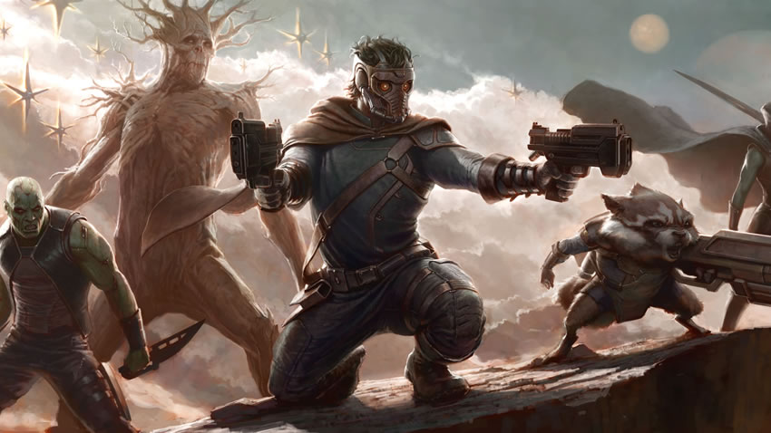 The Guardians of the Galaxy parece ser una buena excusa para ir al cine [Películas]