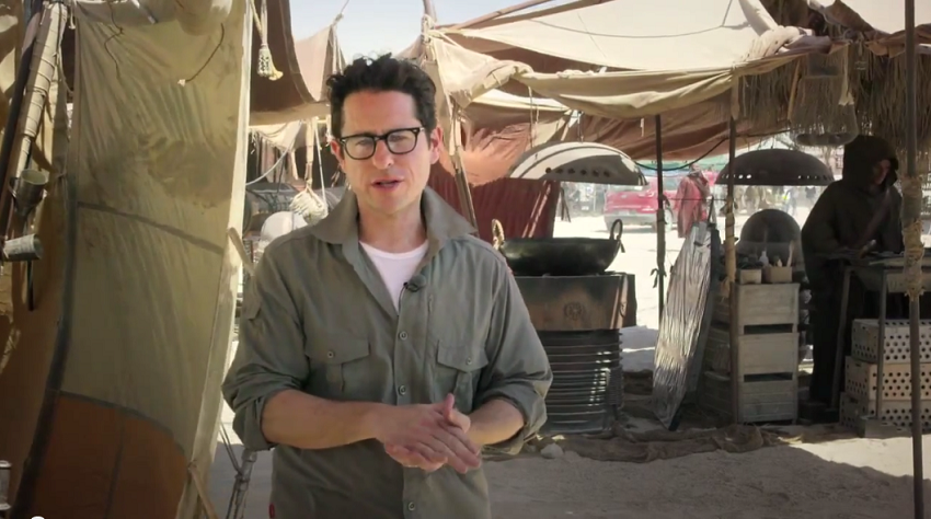 MENSAJE DE J.J. ABRAMS Y UN MICRO ADELANTO DEL EP. VII DE STAR WARS [THE FORCE NEWS]