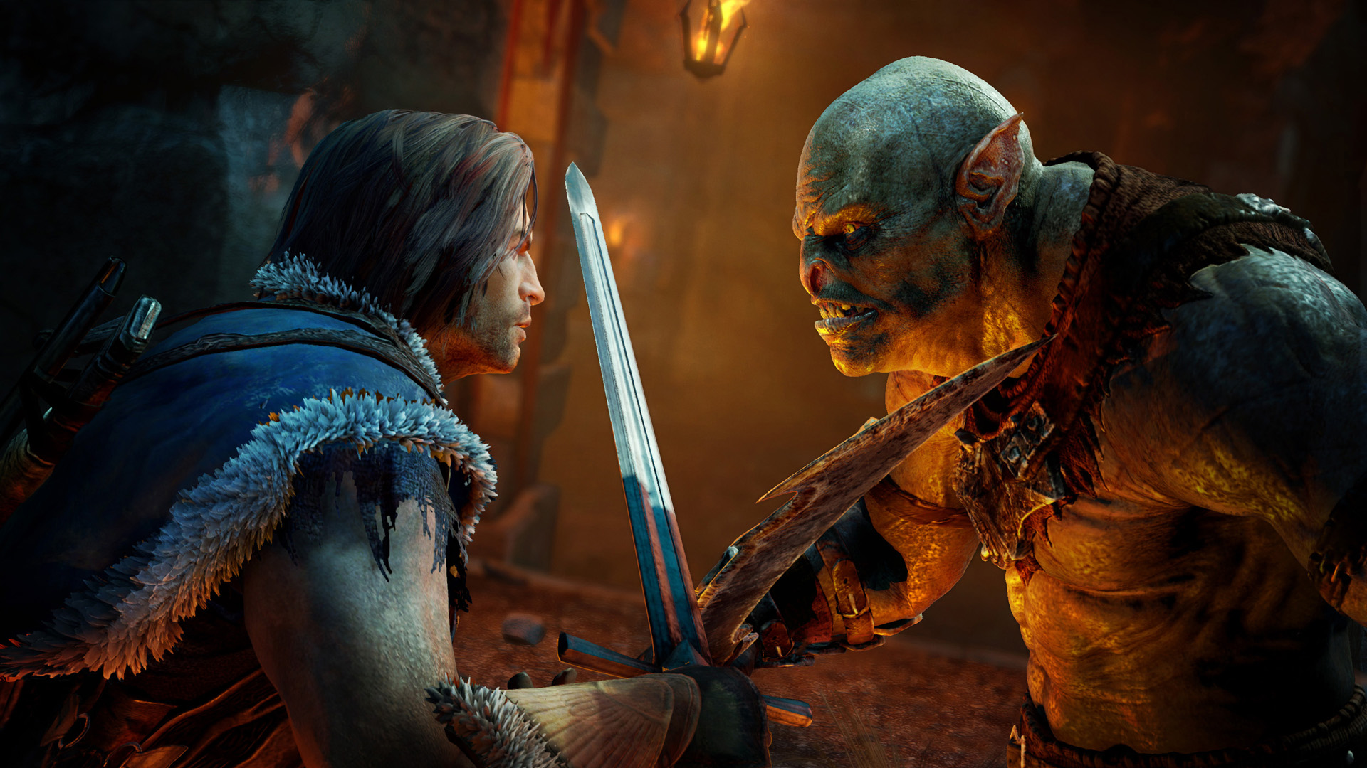 El personaje principal de Shadow of Mordor es imparable [E3 2014]