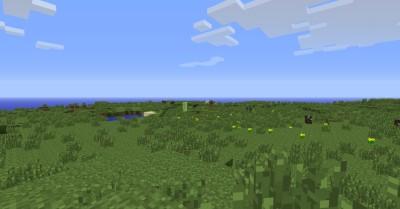 La panorámica de las tierras de Minecraft