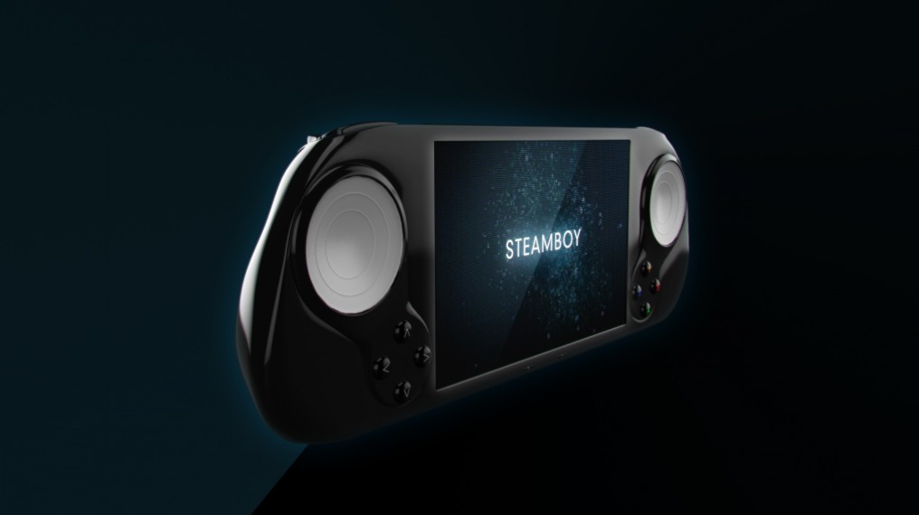 Steam Machine Team presenta la SteamBoy: su consola portátil [STEAM OS]