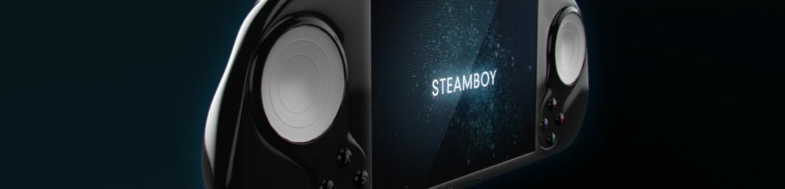 Steam Machine Team presenta la SteamBoy: su consola portátil [STEAM OS]