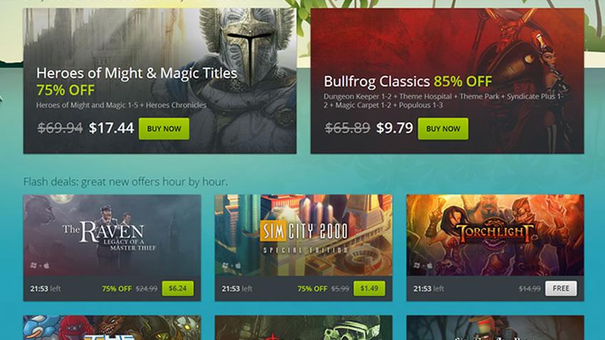 Steam no es el único con ofertas, GoG.com también esta rebajando sus juegos, incluye regalos [Ofertas]