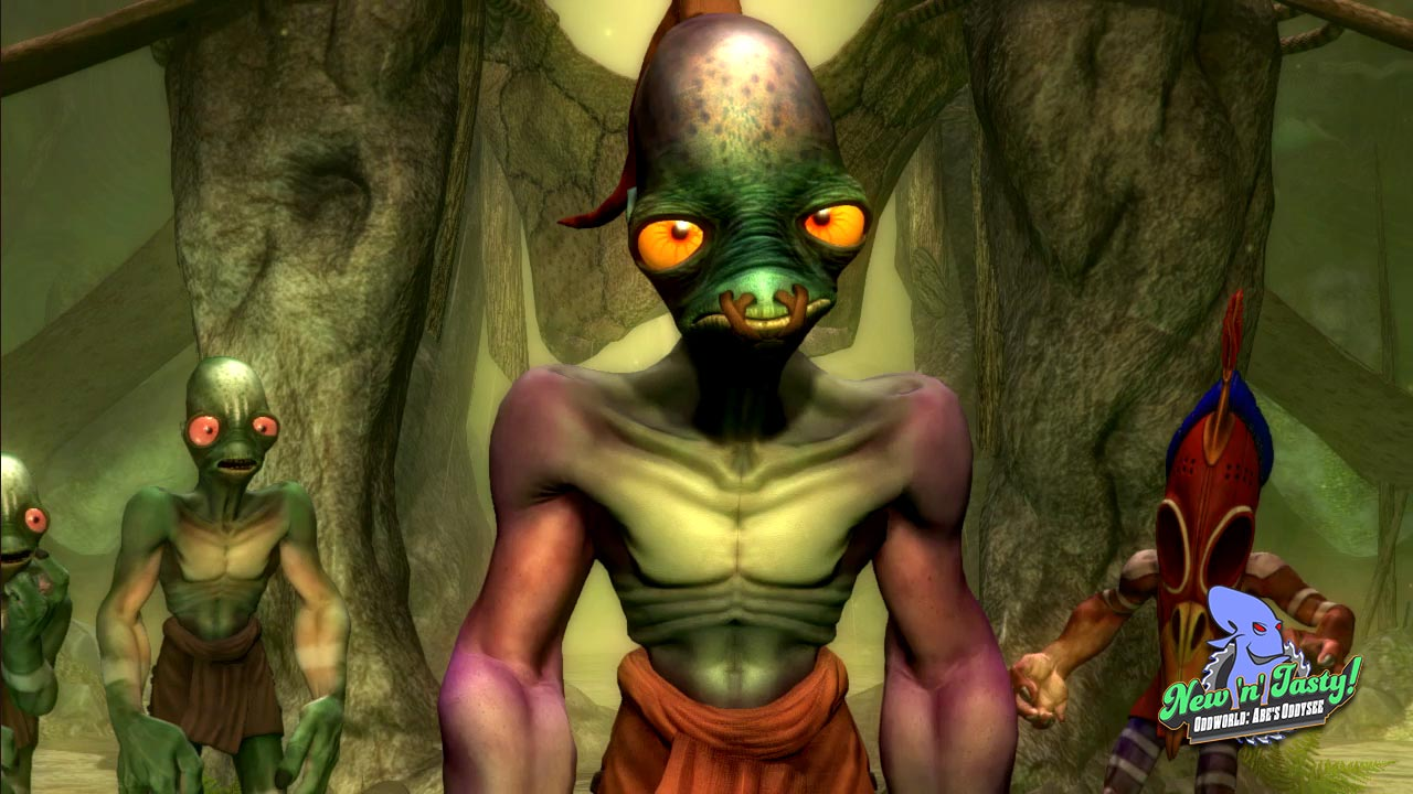 Oddworld: New 'n' Tasty muestra su lado dramático [E3 2014]