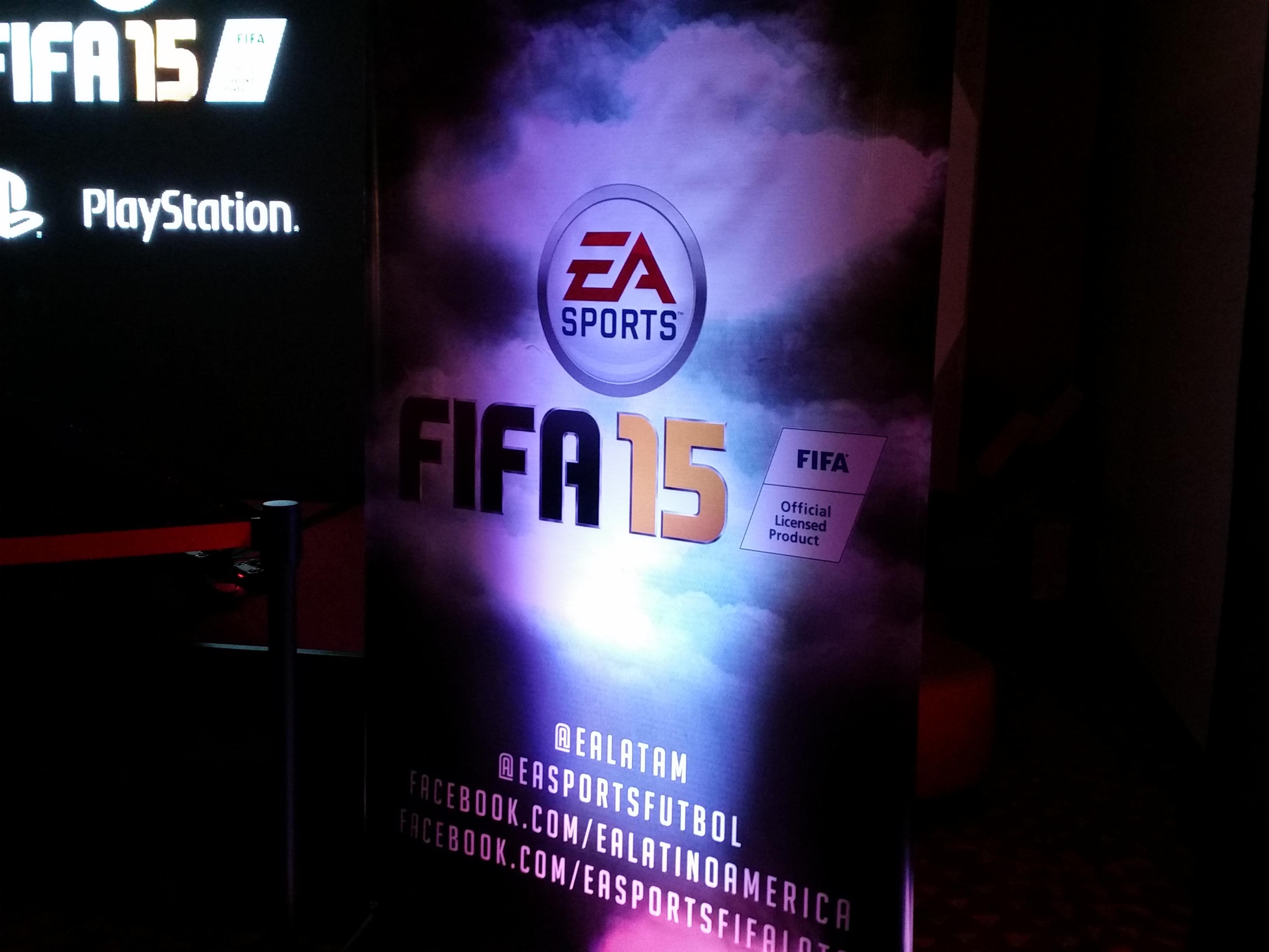 LagZero estuvo en la presentación de FIFA 15 en Chile [Anuncios]