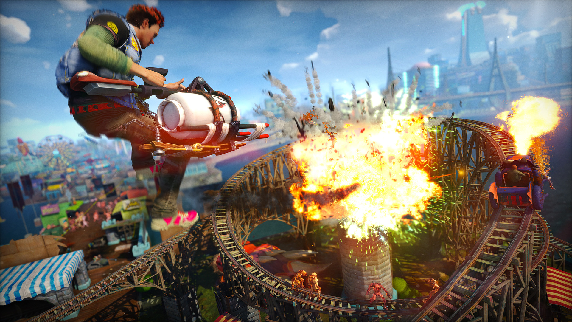 Mira 8 minutos de Sunset Overdrive [Gameplay]