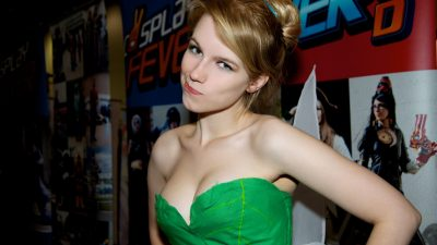 Cosplayer Tinkerbell