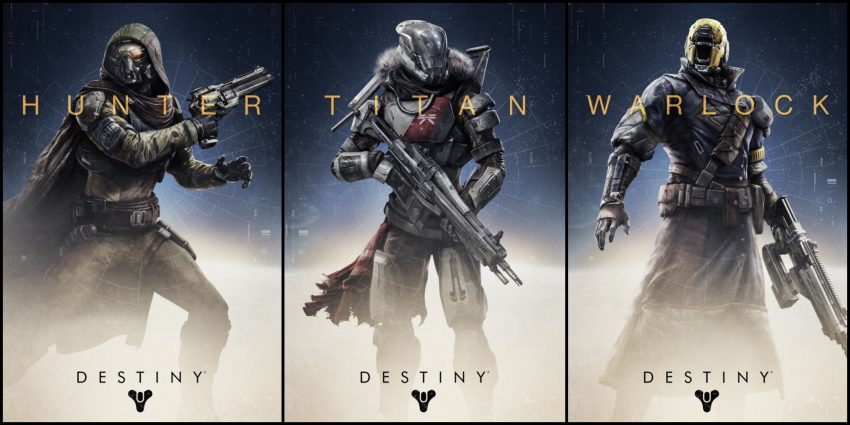 Las clases de Guardianes de Destiny