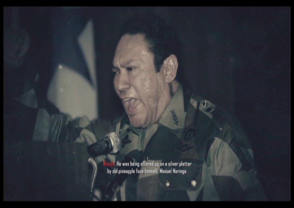 Manuel Noriega lanza una demanda en contra de Activision por usar su imagen en COD: Black Ops 2