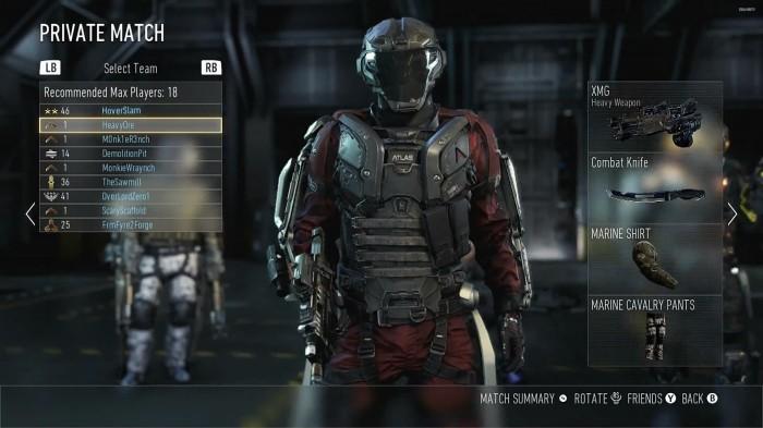 MP Call of Duty Advance Warfare