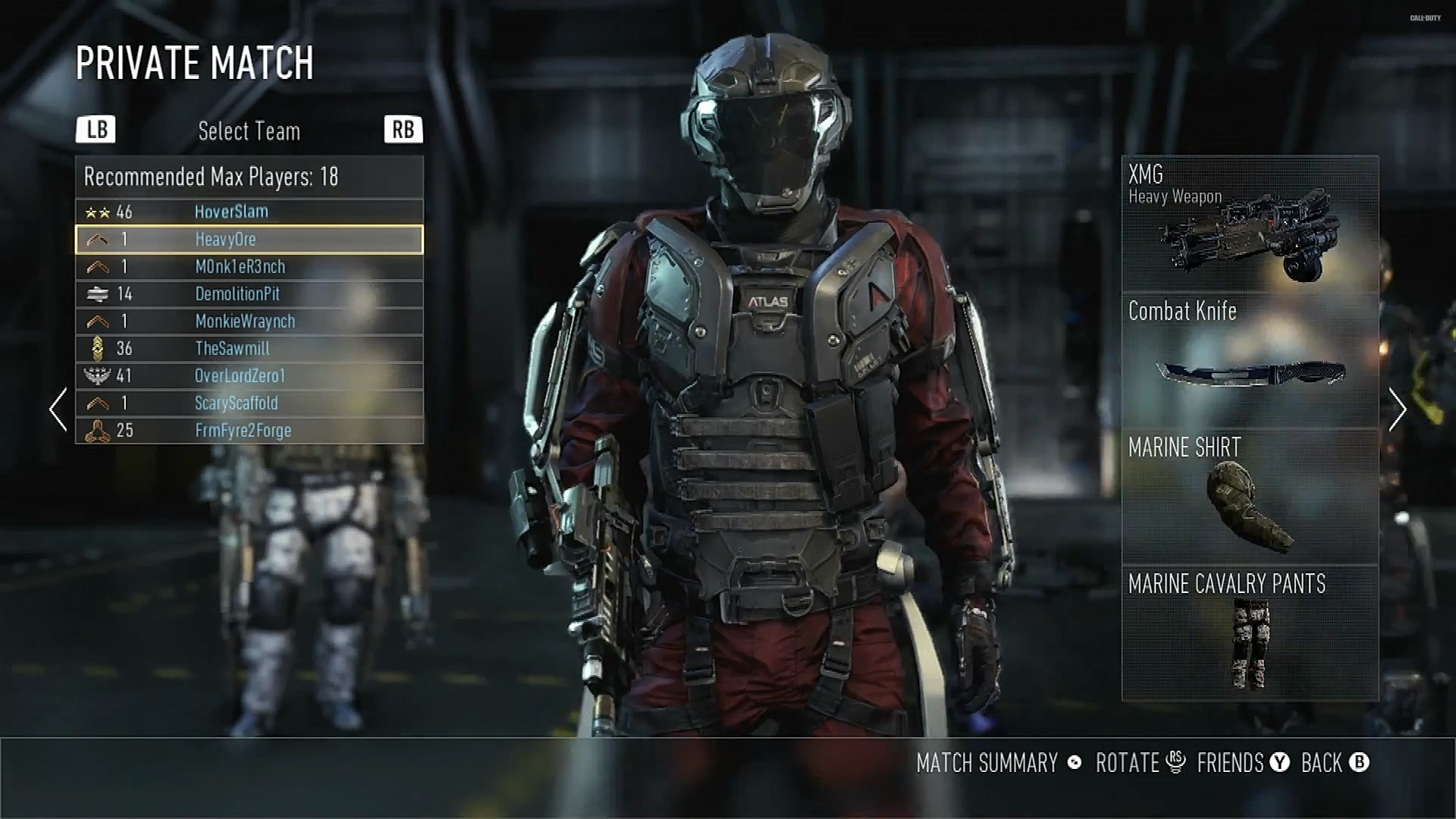 MP Call of Duty Advance Warfare