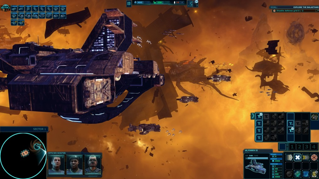 Prepara tu flota estelar en Ancient Space