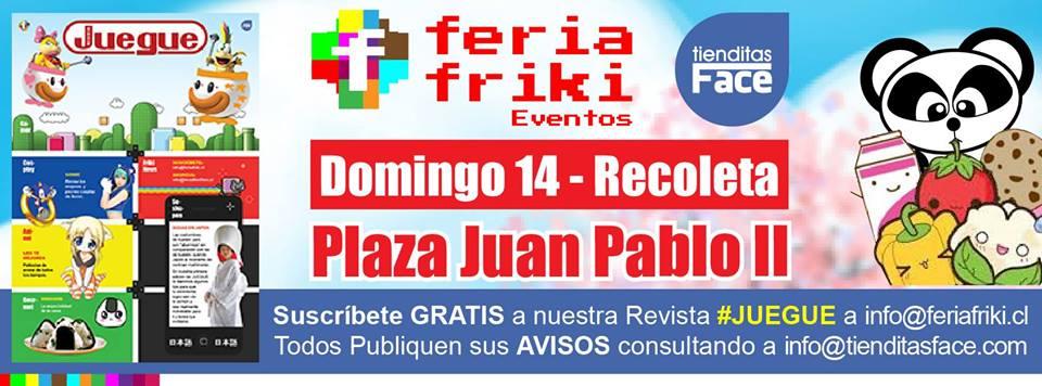 Este domingo 14 hay Feria Friki y entrevistamos a su organizador.
