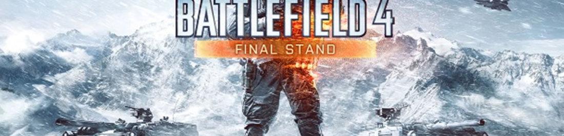 Este es el trailer del ultimo DLC de Battlefield 4, Final Stand